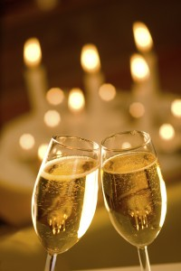 champagne-and-candles