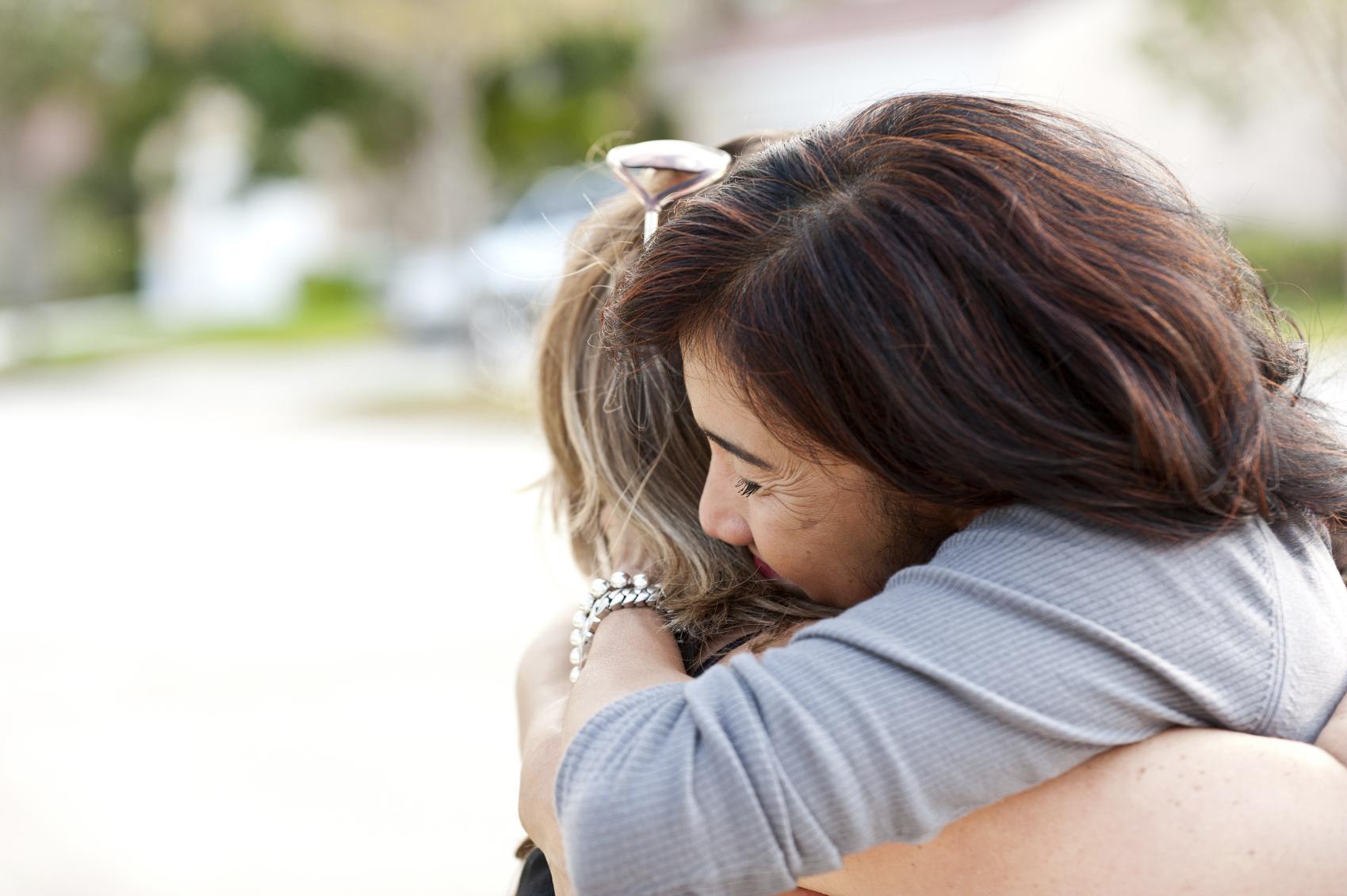 Embraced Hug