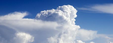 clouds, blue sky death