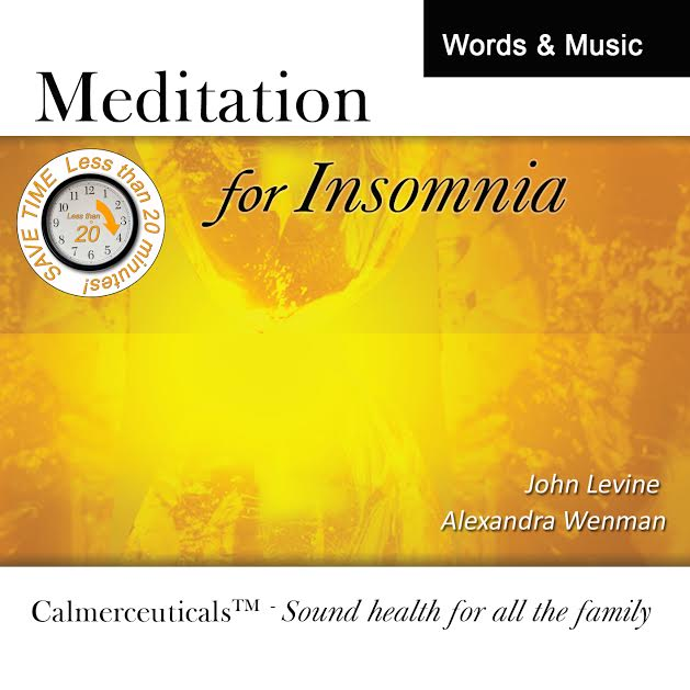 New Alphamusic & Guided Meditation CDs/MP3s – 'Calmerceuticals™'