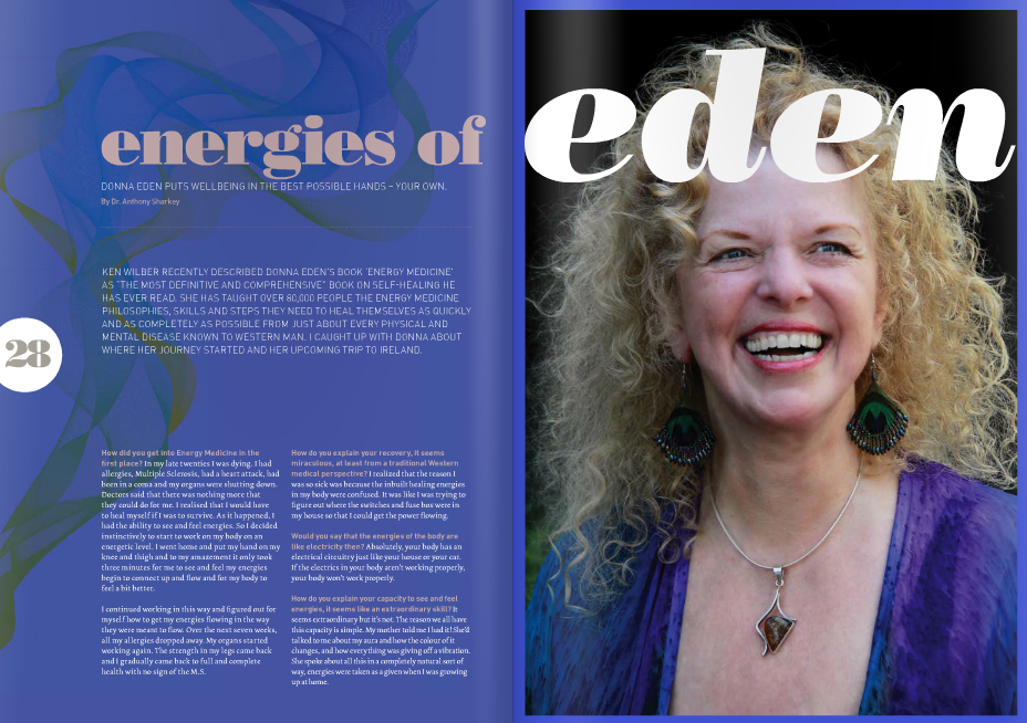 Donna Eden Interview