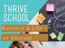 Thrive school banner