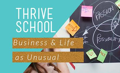 Thrive school banner