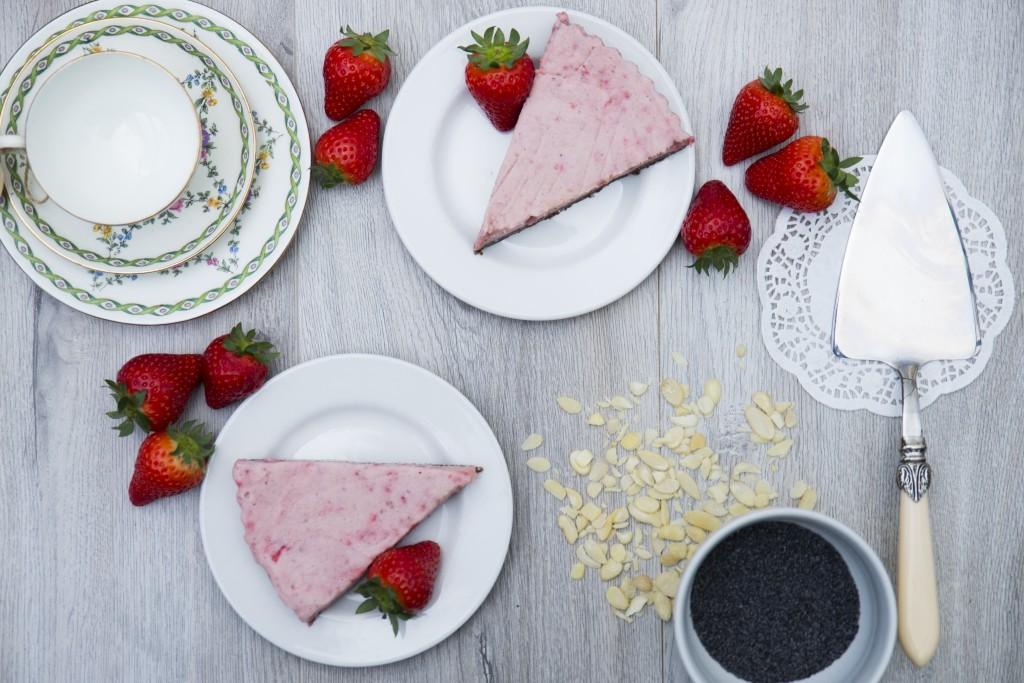 Strawberry Torte Cornucopia