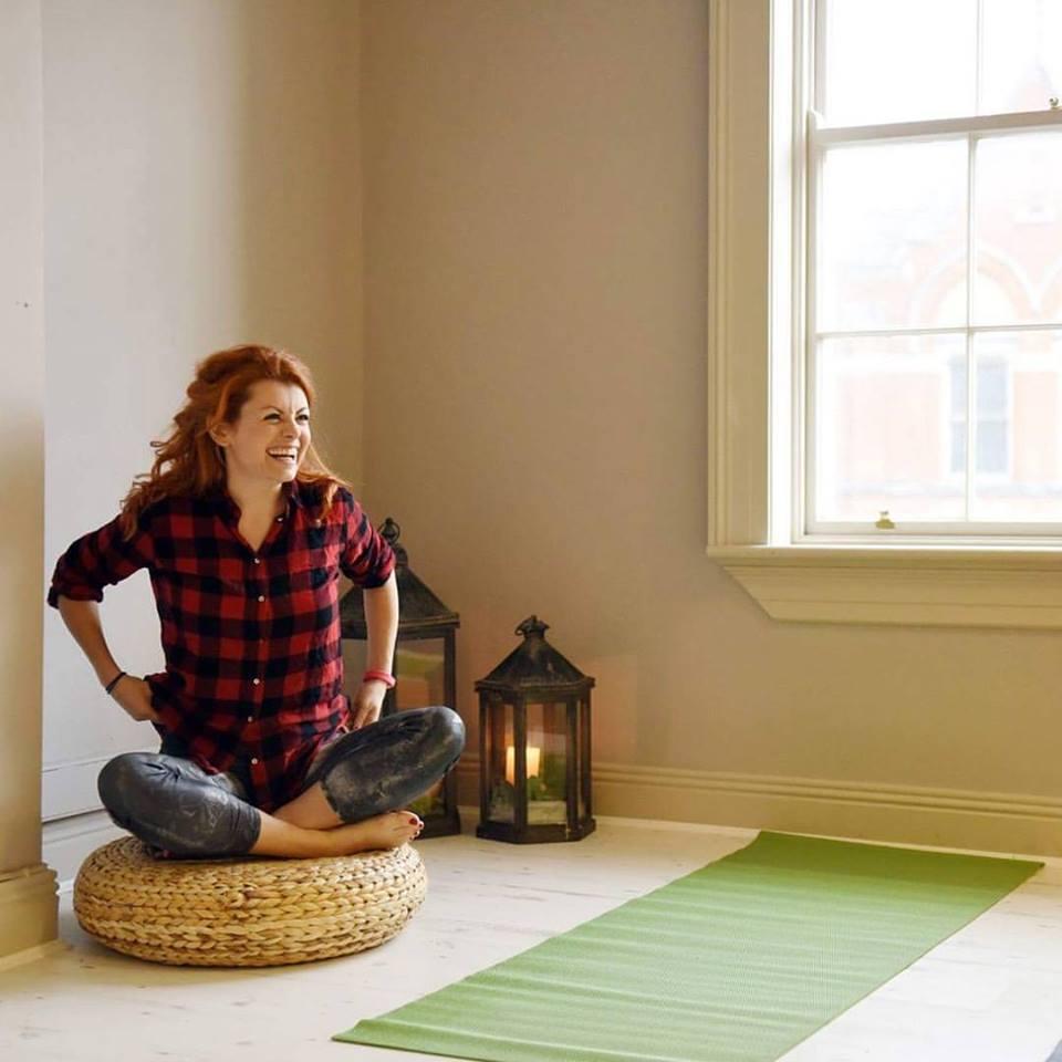 Yoga post Kitty Mcguaire