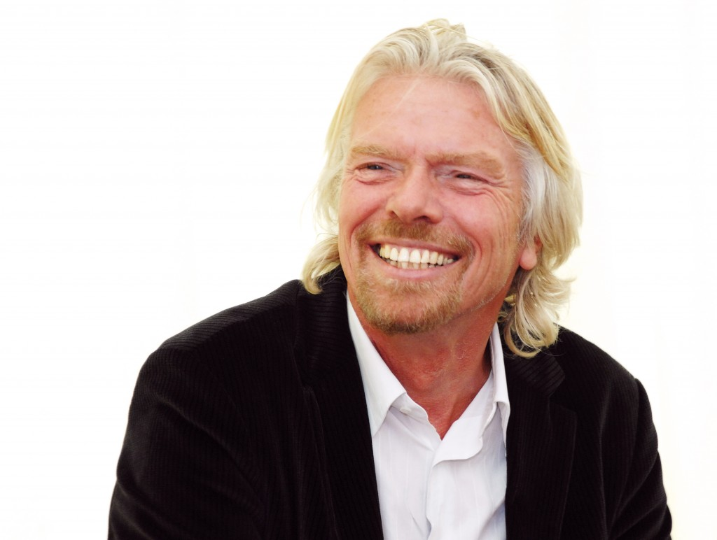 Richard Branson, on Being: Stand Out for Being You.