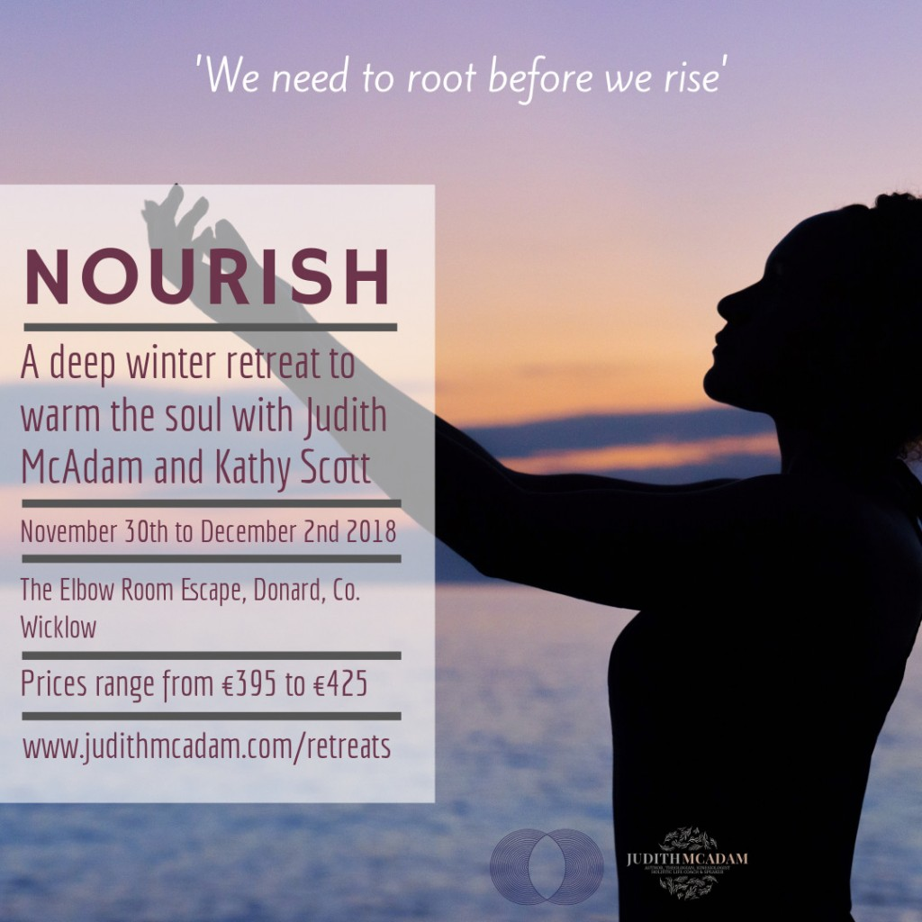 Nourish Retreat Social Flyer
