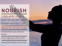 Nourish Retreat Social Flyer