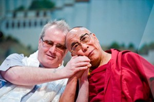 Richard Moore and Dalai Lama
