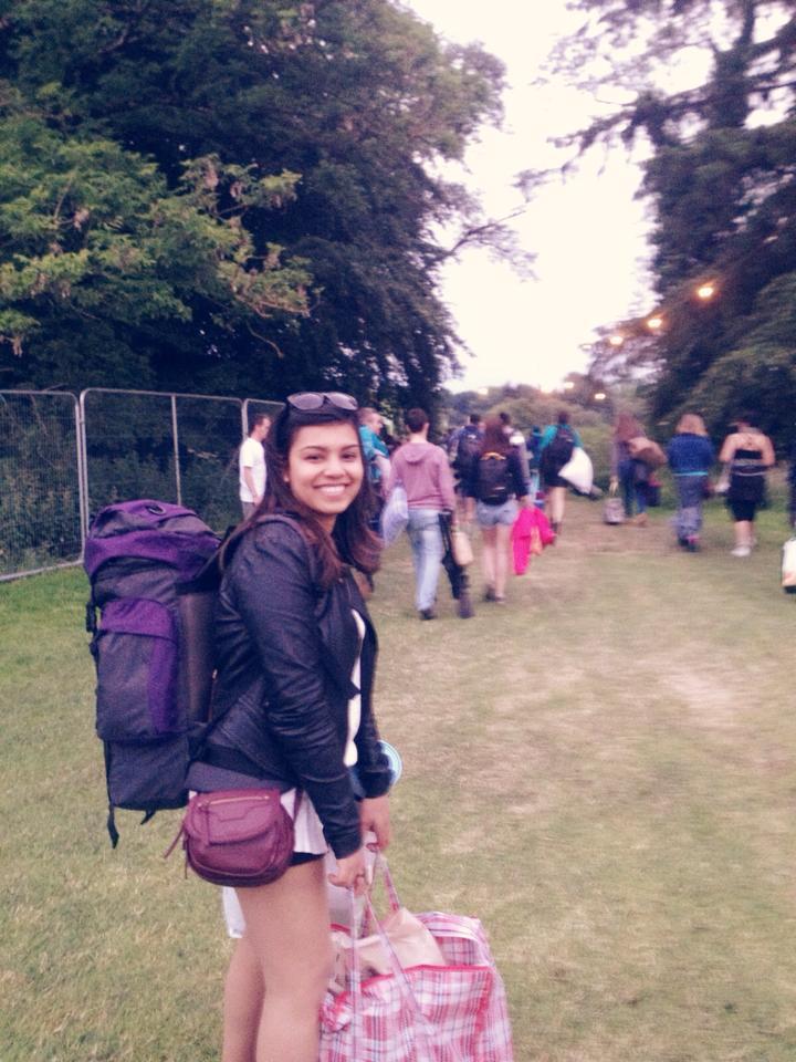 I swore I'd never camp at a festival again but…