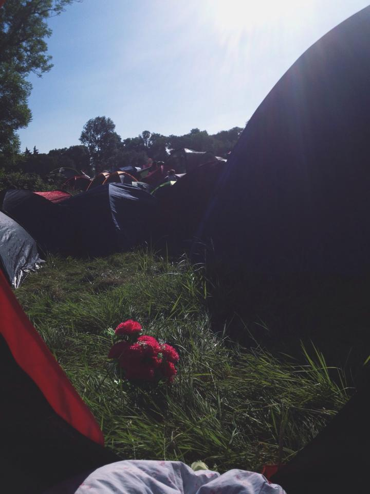 I swore I'd never camp at a festival again but…