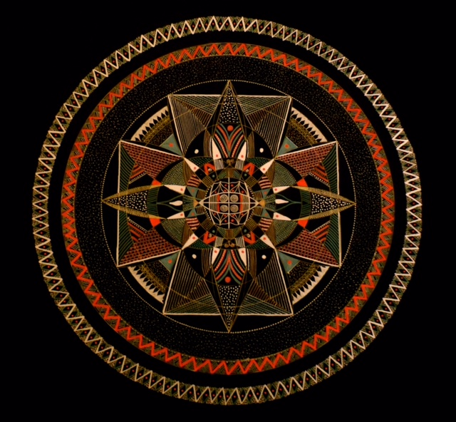 The Mandala Process, by Patricia Fitzgerald