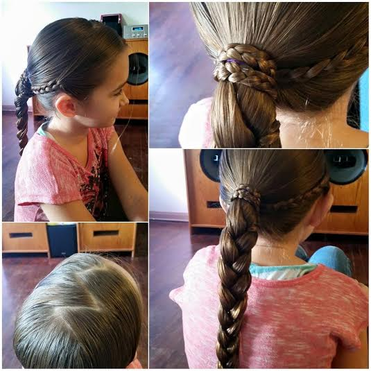 Positive News: Dads, Daughters& Perfect French Braids!